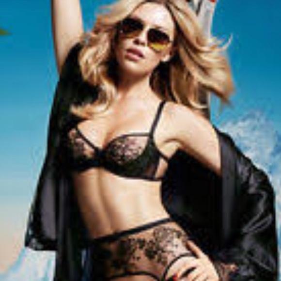 Eliza Lingerie Set various sizes Agent Provocateur black BNWT